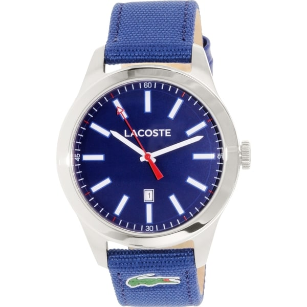 Lacoste Men's Auckland 2010779 Blue Nylon Quartz Watch