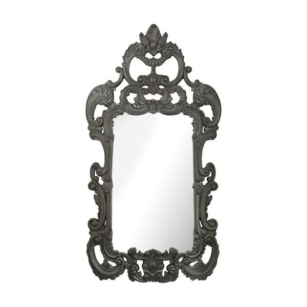 Rocco Black Ash Mirror