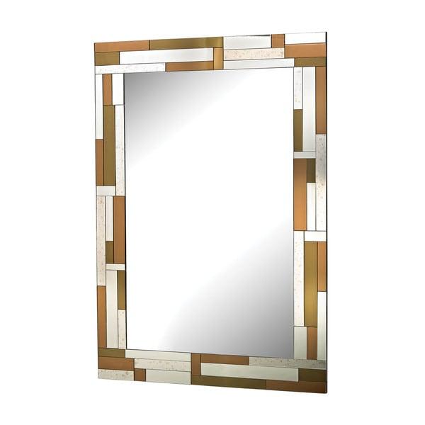 Copper Geometric Mirror