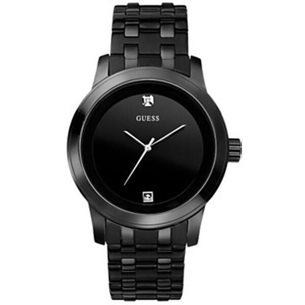 Guess Men's U12604G1 Black Stainless-Steel Quartz Watch