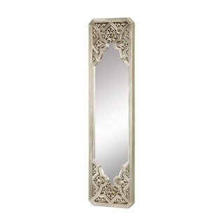 Gothic in Antique Silver Leaf Mirror
