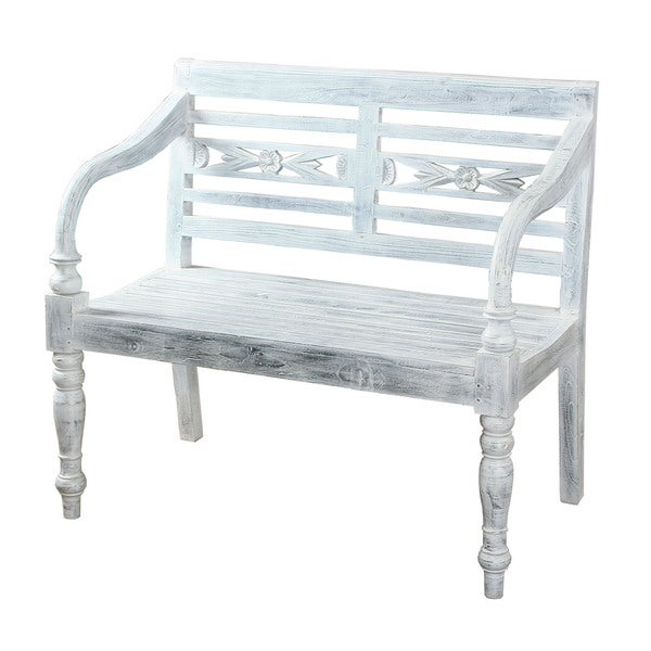 Folger Grey Bench