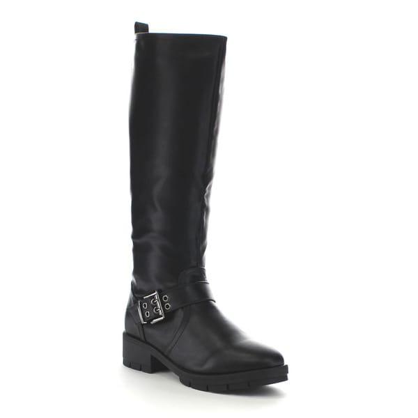 Beston Ga19 Women's Fashion Lug Sole Riding Boots
