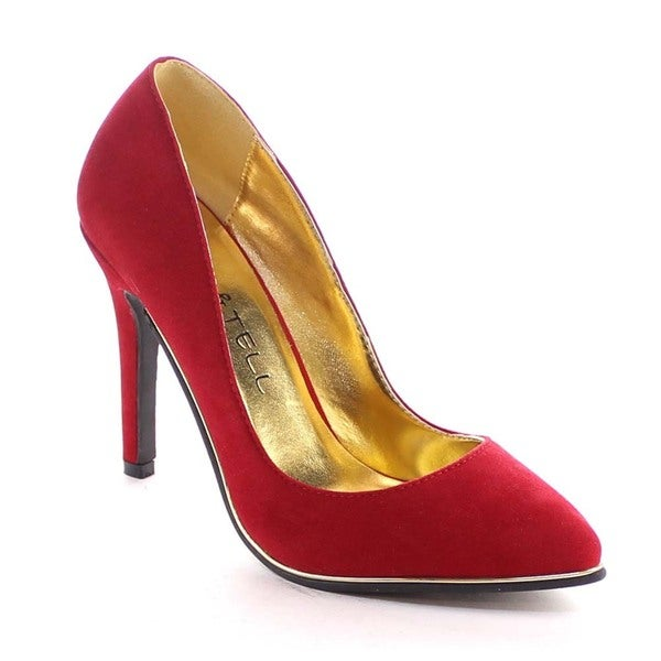 Beston Bb12 Women's Pointed Toe Stiletto Heel Pumps
