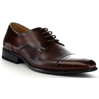 Beston Ea29 Men's Classic Cap Toe Lace Up Stitching Dress Oxford Shoes