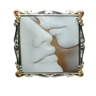 Michael Valitutti Modern Cameo Ring