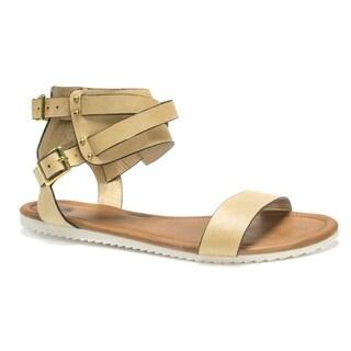 Muk Luks Women's Tan Bree Sandals