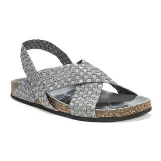Muk Luks Women's Grey Morgan Wedge Sandals