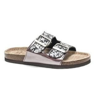 Muk Luks Women's Black Marla Sandals