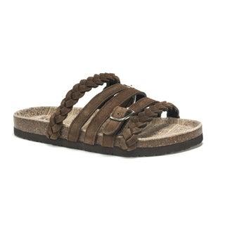 Muk Luks Women's Brown Terri Sandals