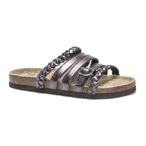 Muk Luks Women's Purple Terri Sandals