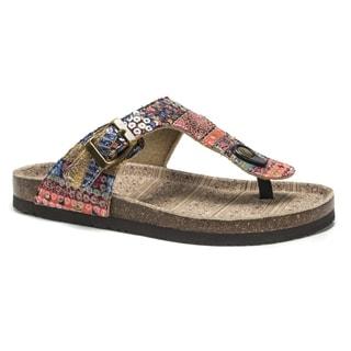 Muk Luks Women's Multi Tina Sandals