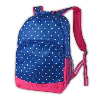 All For Color Preppy Dot Backpack