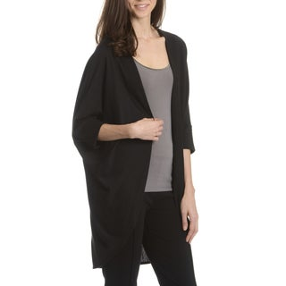 Sunny Leigh Women's Solid Dolman Sleeve Cardigan
