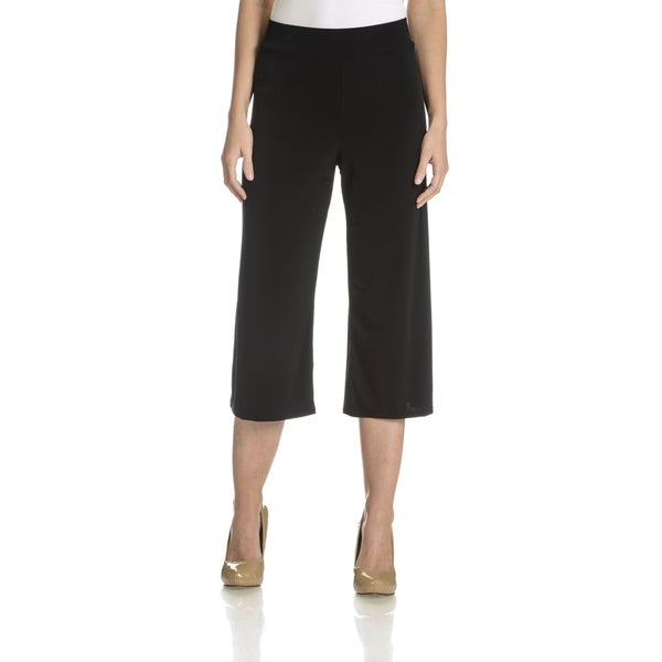 Sunny Leigh Women's Wide Leg Crop Pant
