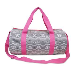 All For Color Snow Bunny Round Duffle