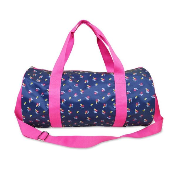 AlL For Color Floral Ditzy Round Duffle