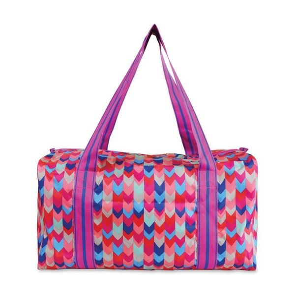 All For Color Dream Weave Square Duffle