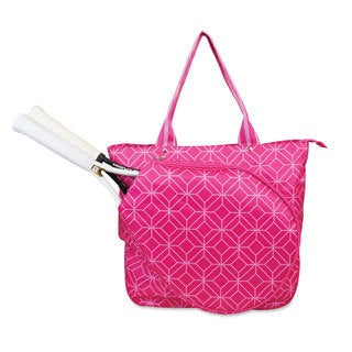 All For Color Geo Gem Tennis Tote