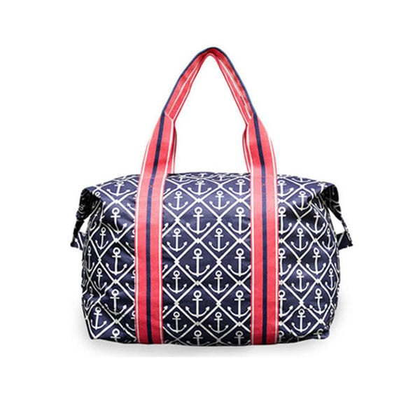 All For Color Classic Anchor Travel Tote