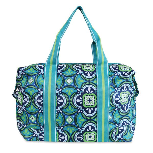 All For Color Pacific Splash Travel Tote