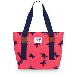 Sloane Ranger Lobster Canvas Tote Bag