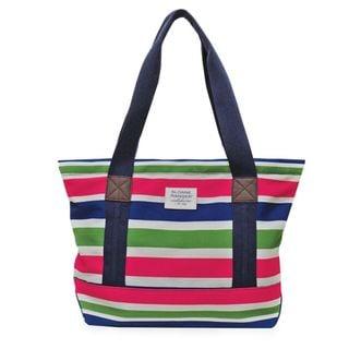 Sloane Ranger Sloanie Stripe Canvas Tote Bag