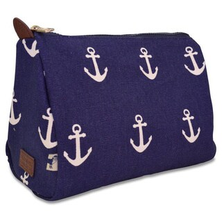 Sloane Ranger Anchor Cosmetic/ Toiletry Pouch
