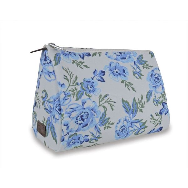 Sloane Ranger Vintage Floral Cosmetic/ Toiletry Pouch