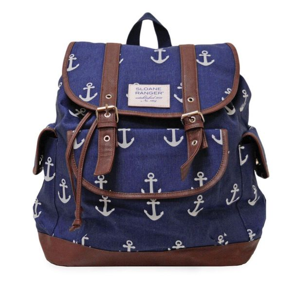 Sloane Ranger Anchor Slouch Backpack