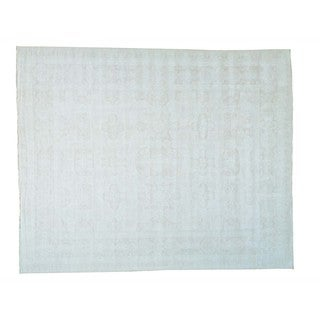 Oversize Washed Out Oushak Hand-knotted Oriental Rug (12'3 x 15'1)