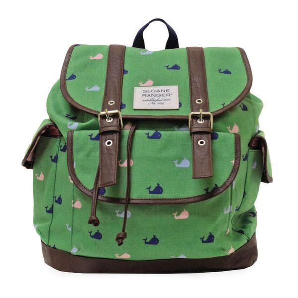 Sloane Ranger Windsor Whale Slouch Backpack