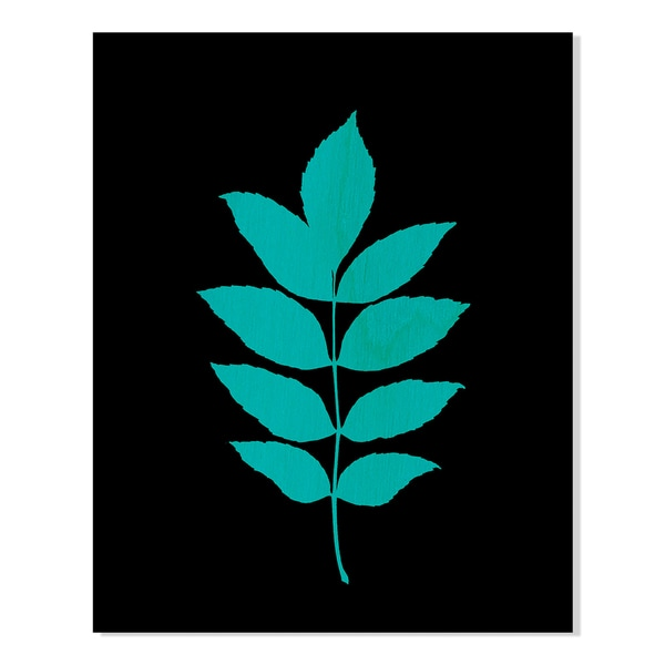 Planted Pigment, on Black IV Print by New Era Original on Birchwood Wall Art