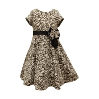 Mia Juliana Knit Leopard Dress