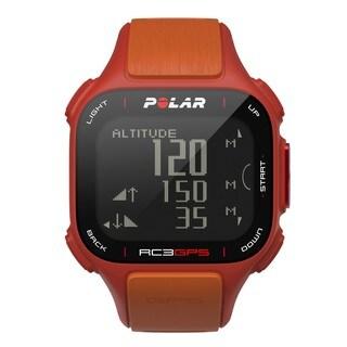 Polar RC3 GPS Sports Watch Red/ Orange