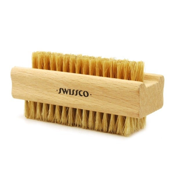 Swissco Wooden Nail Brush Natural Bristle