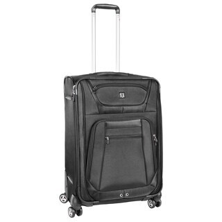 Ful Sequential Black 24-inch Spinner Upright Suitcase