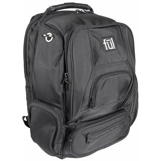 Ful Upload Black 17-inch Laptop Backpack