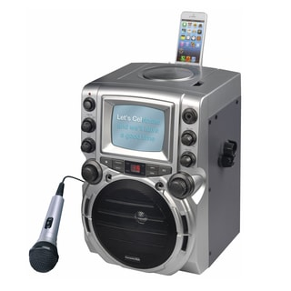 "Karaoke DVD/CD+G/MP3+G Karaoke System with 7"" TFT Color Screen"
