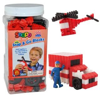 SNAPO 277-Piece Snap and Go Blocks