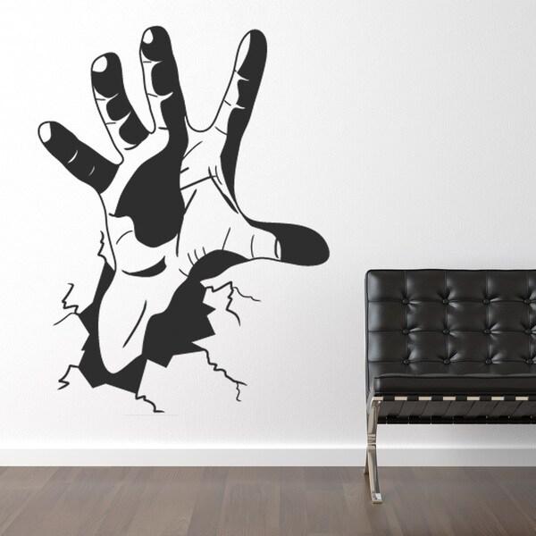 The Hand Vinyl Sticker Wall Decor