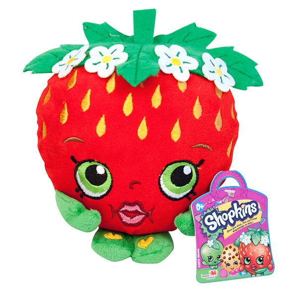 Shopkins Strawberry Kiss 8-Inch Plush
