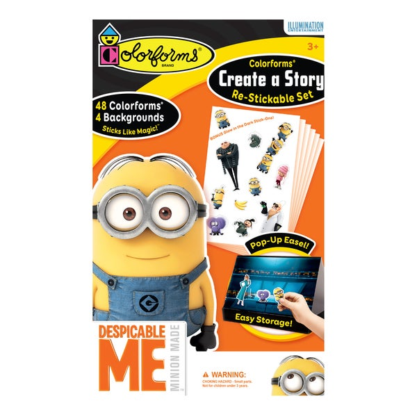 Despicable Me Colorforms Create A Story