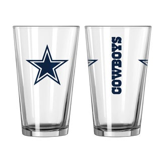 Dallas Cowboys Game Day Pint Glass 2-Pack
