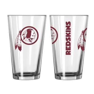 Washington Redskins Game Day Pint Glass 2-Pack
