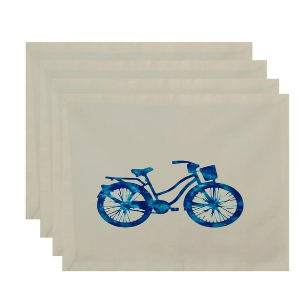 Life Cycle Geometric Print Placemats (Set of 4)