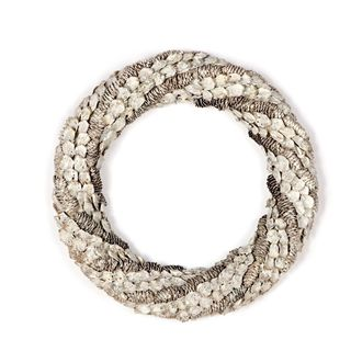 Chateaux Collection 22-inch Pinecone Swirl Wreath (Pack of 4)