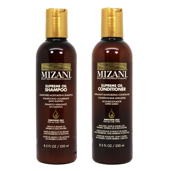 Mizani Supreme Oil 8.5-ounce Shampoo and Conditioner Set