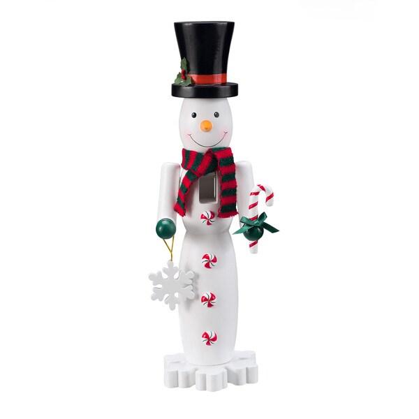"15"" Snowman Nutcracker"