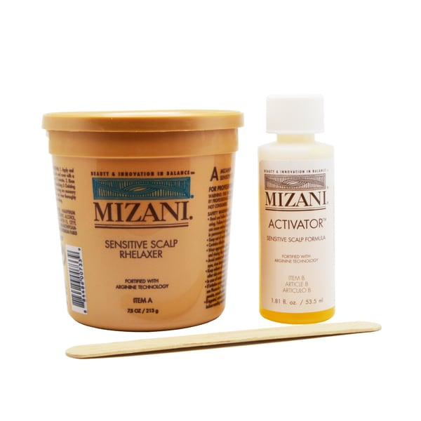 Mizani Rhelaxer with Sensitive Scalp Formula Activator